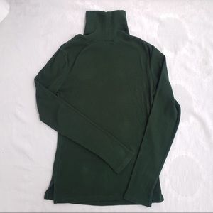 ❄️3/$50 Urban Green Ribbed Turtleneck Long Sleeve